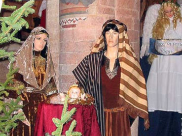The Christmas crib of Spoleto